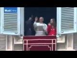 Папа Франциск призвал Сатану Обаму и гауляйтера-троцкиста райхскаганата Бандерландия Вальцмана-Парашенко прекратить геноцид народа Новороссии